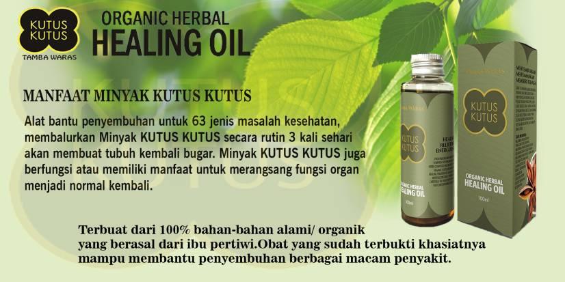 minyak kutus asli